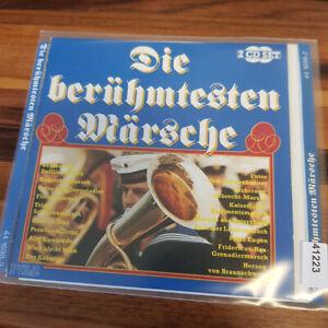 VARIOUS : Die Berühmtesten Märsche    > VG+ (2CD)