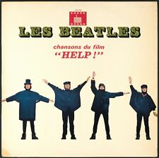 THE BEATLES - Help! - 1965 France LP Odeon (CBS logo, blue label)