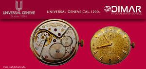 Vintage Original Movement Universal Geneve. Calibre. 1200