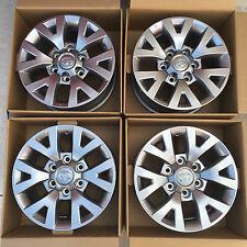 "2016 Toyota Tacoma 16"" Wheels Alloy Rims OEM - Set of 4 w/ Center Caps and Lugs"