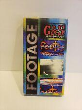 FOOTAGE VHS (Gordon & Smith G&S Skateboards 1990) Skate Video HTF OOP Rare