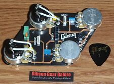 Gibson Les Paul Pot Control Board Split Coil CTS Guitar Parts HP Quick Connect T