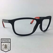 Carrera Gafas Marco Negro Mate Cristales Cuadrados Mod: 8001 0VHY1