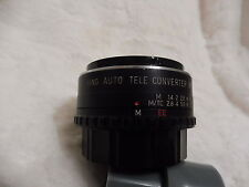 2x TELECONVERTER TO FIT KONICA SLR FILM CAMERAS made japan