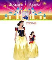 Adult Snow White Deluxe Disney Princess Fairy Tale Fancy Dress Costume COS169