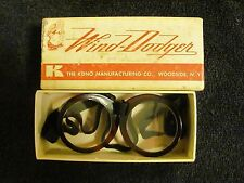 Vintage Wind-Dodger Goggles By The Kona Manufacturing Co.