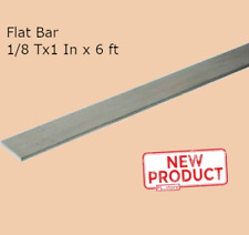 Stainless Steel Flat Bar Stock 18 Inch X 1 Inch X 6 Ft Rectangular Mill Finish