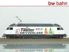 Roco H0 43752 E-Lok Re 460 SBB Tilsiter Werbelok, weiß/schwarz. Neu