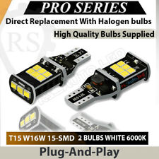 2x 15 Smd W16W Reverse Led White Canbus Mercedes E Class W212 A207 C207 2009-on