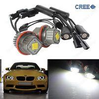 2x 80W BMW Angel Eyes LED Marker Standlicht E39 E53 E60 E63 E64 E65 E66 E83 E87