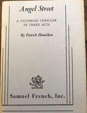 Angel Street By Patrick Hamilton, A Victorian thriller in three acts, Samuel F