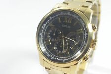 Guess U0379G4 Classic Gold-Tone Chronograph Watch