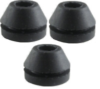TURNTABLE MOTOR MOUNT GROMMETS BUSHES - SUIT THORENS BSR ROCK-OLA ROWE AMI