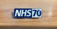 NHS 70 Pin Badge Tie Pin Lapel - Nurse - Doctor - Student - Paramedic