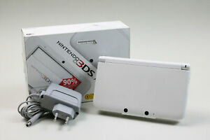 Sehr guter Zustand - Nintendo 3DS XL Weiß 32GB in OVP + 195 Spiele