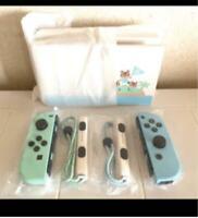 Nintendo Switch Animal Crossing Special Edition DOCK Joy-Con SET NO consolec774