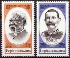 Bophuthatswana 1985 Mi 137-138 100 Jaar Mafeking, Mafikeng MNH