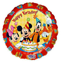 "Disney Mickey Mouse Clubhouse Balloon Happy Birthday Foil 18"" HeXL Helium"