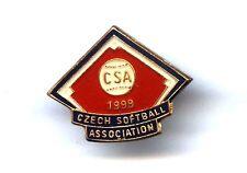 pin Czech Softball Association 1999 Baseball badge