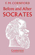 Before and After Socrates by Francis Macdonald Cornford