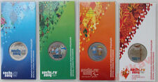 Russian 25 rubles  Sochi 2014, 4 coins are in set,colored