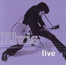 Elvis Live by Elvis Presley (CD, Aug-2006, BMG) Free Shipping!