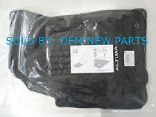 2016 2017 Nissan Altima Carpet Floor Mats Set Genuine 4pc BLACK p/n: 999E2 U4H00