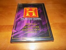 DEEP SEA DETECTIVES Sinking on the St. Lawrence Ireland HISTORY CHANNEL DVD NEW