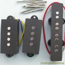 Abbinato Set di 3 ELECTRIC BASS GUITAR PB / JP Pickup nuova precisione JAZZ CERAMICA
