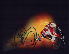 "THEO FLEURY signed Autographed ""CALGARY FLAMES"" 8X10 PHOTO C - Theoren COA"