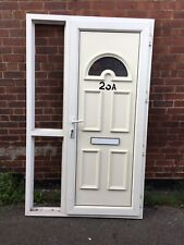 uPVC Front Door and Frame and Side Panel