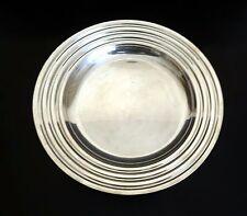 Christofle Large Round Platter 'Ondulations' by Luc Lanel  30 cms-