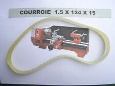 COURROIE MINI TOUR 1.5x124x15 ( Réf: 941 )