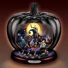 Bradford Exchange Disney Nightmare Before Christmas Pumpkin Sculpture Musical