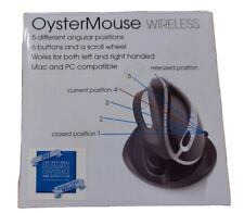 OysterMouse Ergonomic Adj. Mouse Left/Right USB wireless USB 5081 RF