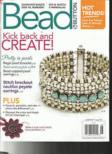 BEAD & BUTTON MAGAZINE,    JUNE, 2017    ISSUE 139       KICK BACK AND CREATE !