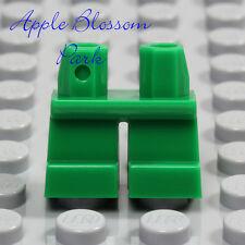 NEW Lego Minifig GREEN SHORT LEGS  Boy Girl Kid Child Xmas Elf Jeans Pants Lower