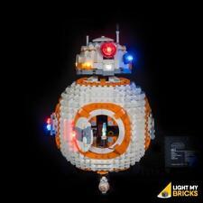 LIGHT MY BRICKS - LED Light Kit for LEGO BB-8 75187 set - NEW