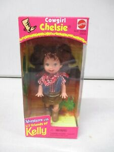 1998 Barbie Adventures with Lil Friends of Kelly Cowgirl Chelsie