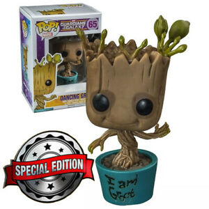 Funko POP Marvel Guardians of the galaxy 65 Dancing Groot Special edition