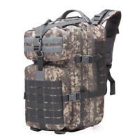 Large Tactical Backpack Hiking Survival Water-Proof Heavy Duty Camping Outdoor