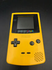 Nintendo Gameboy Color GBC 1998 Yellow Console in amazing condition!