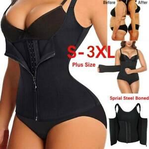 Plus Size Women Waist Trainer Corset Weight Loss Slimming Body Shaper Vest Tank