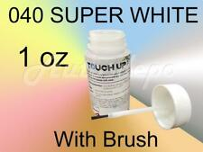 Touch up Paint Kit W/ Brush for Toyota Lexus 1 Ounce 040 SUPER WHITE