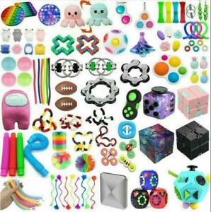 50Pack Fidget Toys Set Sensory Tools Bundle Stress Relief Hand Kids Adults Toys