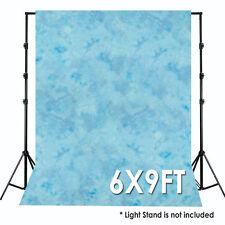Blue Cloud 6 X 9 ft Photography Photo Studio Tie Dye Muslin Backdrop Background