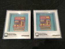 "Polaroid Desk & Wall Photo Frame 4"" x 4"", Lot of 2 NEW"