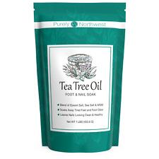 Purely Northwest Tea Tree Oil Therapeutic Foot Soak 16oz