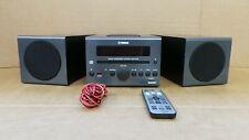 (Pa2) Yamaha MCR042 Micro HiFi System Tuner Dab CD Player - Remote Included