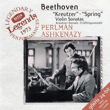 """BEETHOVEN : """"KREUTZER"""" SONATA, ETC. - ITZHAK PERLMAN, VLADIMIR ASHKENAZY / CD"""